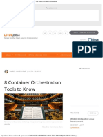 8 Container Orchestration Tools to Know Linuxcom the Source for Linux Informa