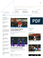 IPL 2018, Cricket Score, Schedule, Latest News, Stats & Videos _
