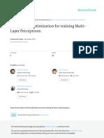 Moth-Flame Optimization for Training Multi-layer Perceptrons
