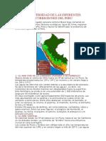 Biodiversidad de Las Diferentes Ecorregiones Del Peru