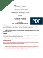 Ley No. 260 - Ley Orgánica Del Poder Judicial de Nicaragua