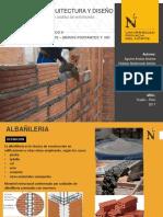 Grupo 1 - Albañileria