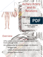 Axillary Artery and Its Relation