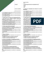genaciones evaluaion