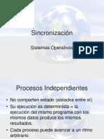 Sincronizacion - SO