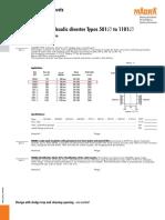 Catálogo Garrafa hidráulica