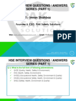 HSE Interview