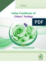 En Being Considerate of Others Feelings