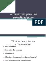 Alternativas Para Una Sexualidad Plena