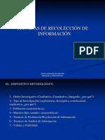 Presentación (Técnicas de Recolección y Producción de Información)