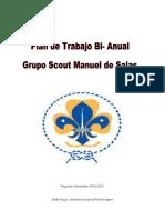 Plan de Trabajo Anual Grupo Scout