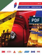 Catalogo-piaga Productos Automotrices