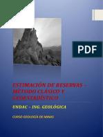 Calculo de Reservas de Mineral Final