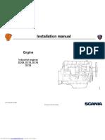 Scania Dc11 Industrial Engine Gas - PDF Installation Manual