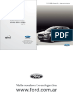 Manual Garantia Mantenimiendo Ford KA 2016