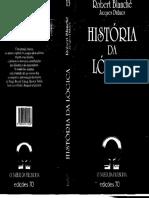 Blanche R. - História Da Lógica