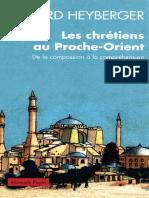 [Bernard Heyberger] Les Chrétiens Au Proche-Orient