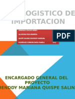 Plan Logistico de Importacion