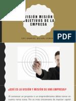 Vision Mision Objetivos de La Empresa