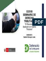 XXXVIII Dcho Tributario 2013