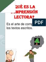 3. Comprensión de Textos