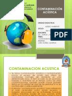 Contaminación Sonora