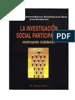 Investigación Participativa Villasantes