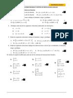 Gráfica de Relaciones Binarias y Sistema de Inecuaciones Lineales