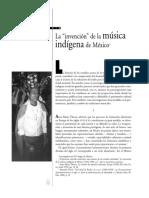 La Invencion de La Musica Indigena en Mexico