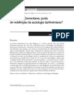 Durkheim - José Benevides