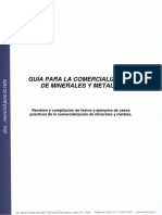 Guía Para La Comercialización de Minerales y Metales