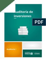 Auditoría de Inversiones