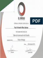 Diploma Capacitación Foto