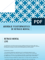 fisio retraso mental