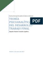 Trabajo Final Teoria Psicoanalitica Del Desarrollo