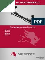 Manual Eixo Dianteiro 2012-06 ESP