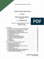 Nonlinear Elastic Shell Theory Libai1983