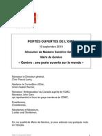 OMC, journée Portes Ouvertes