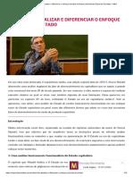 Alain Bihr. Atualizar e Diferenciar o Enfoque Marxista Do Estado.2015