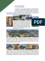 La Ciudad Romana de Gerasa en Ammán Jordania