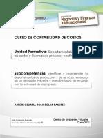 unidad2_costos - Departamentalizacion