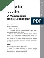 How to Write- A Memorandum