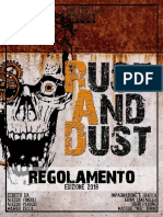 Regolamento Rust and Dust 2018 1.0