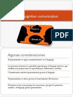 Desarrollo cognitivo -comunicativo
