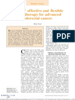 Jurnal Campto Effective and Flexible Chemotherapy for Advanced Colorectal Cancer