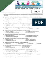 Soal UTS PKN Kelas 3 SD Semester 2 Dilengkapi Kunci Jawaban