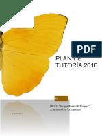 Plan de Tutoría 2018