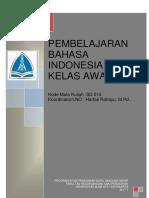 RPS PEMBELAJARAN BAHASA INDONESIA SD KELAS AWAL dan VALIDASI.pdf