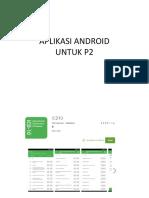 Aplikasi Android p2