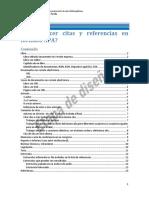 Guia Construcción Citas Bibliográficas UNAM 2018-2